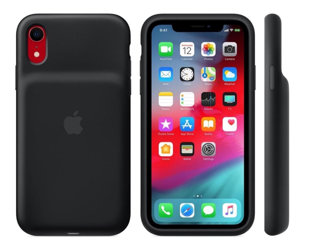 Apple Smart Battery Case Schwarz