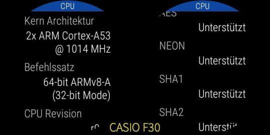 Casio F30