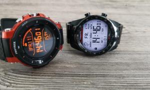Casio Pro Trek Wsd F30 Und Ticwatch Pro