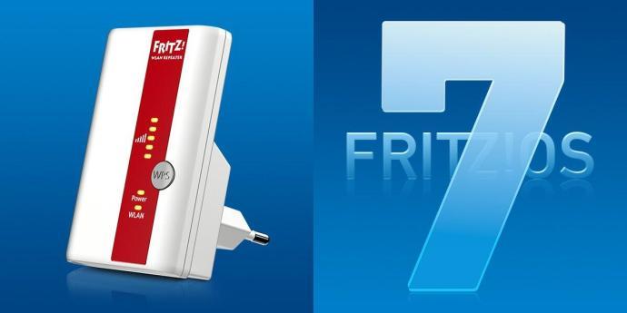 FRITZ!Repeater 310 erhält FRITZ!OS 7.01