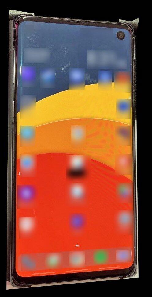 Galaxy S10 Leak Groß