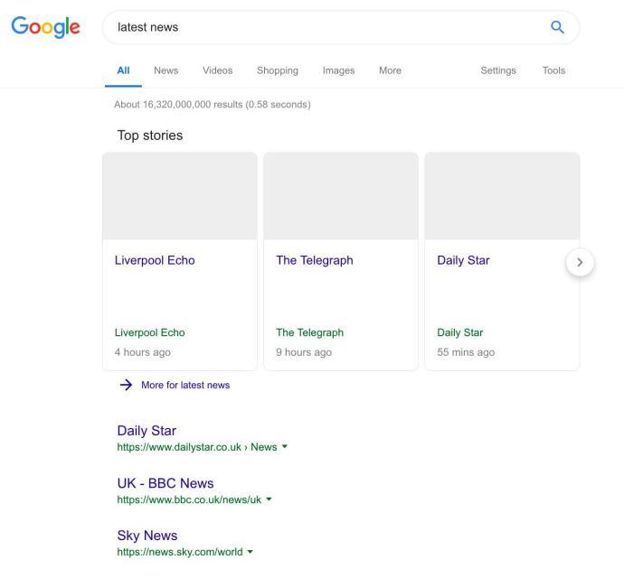 Google News Ohne Bilder1