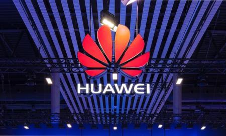 Huawei Logo Bunt Header