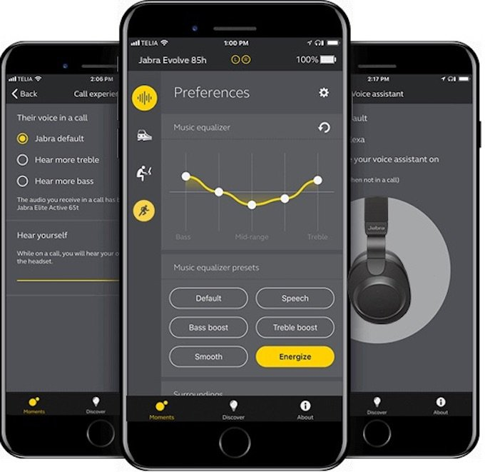 Jabra Elite 85h App
