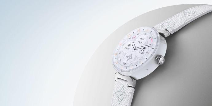 Louis Vuitton Tambour Horizon Pure White 3