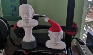 Mobiflip 3d Roundup Albert Einstein Batman Bueste