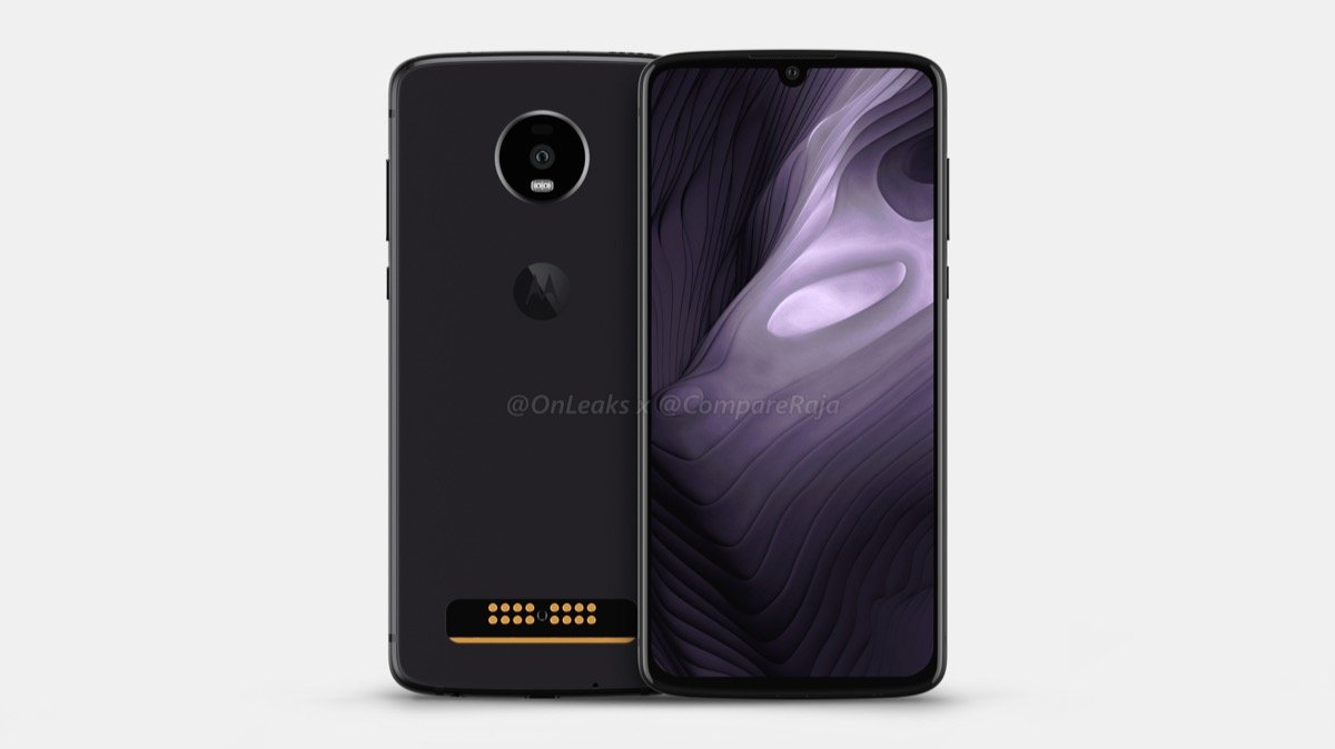 Motorola Moto Z4 Play Render1