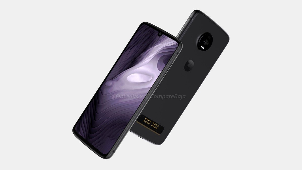 Motorola Moto Z4 Play Render2