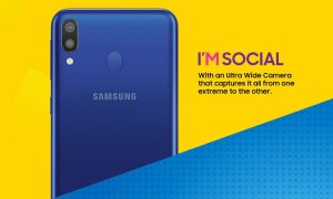 Samsung Galaxy M20 Teaser3