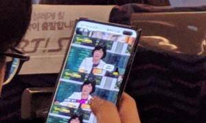 Samsung Galaxy S10 Plus Foto Klein