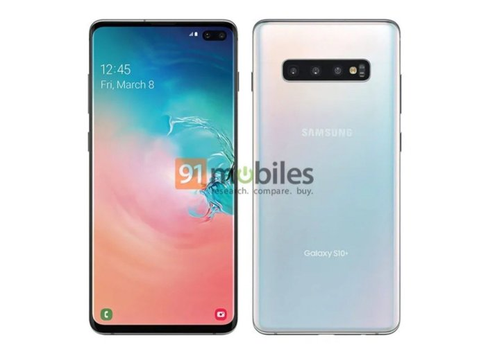 Samsung Galaxy S10 Plus Press