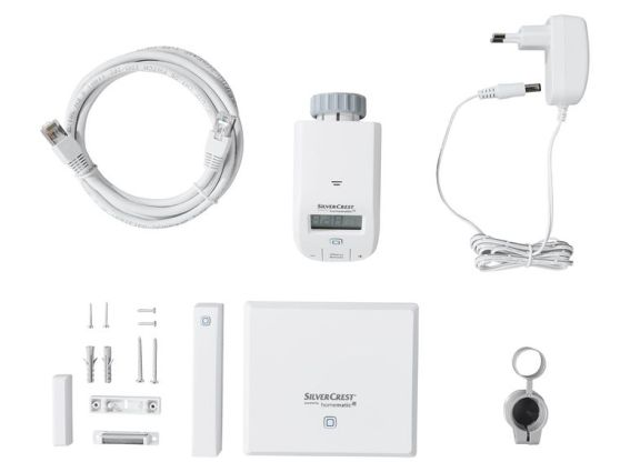 Silvercrest Heizen Smart Home Starterkit 9