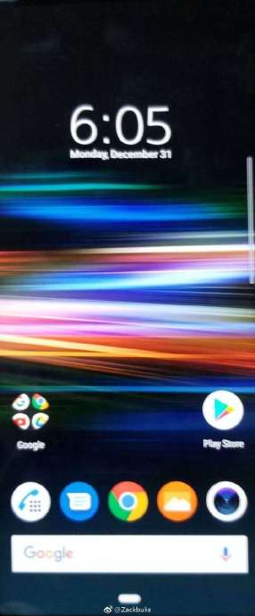 Sony Xperia Xz4 Homescreen