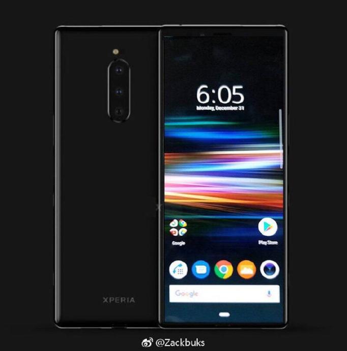 Sony Xperia Xz4 Leak Mockup Foto