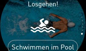 Ticwatch S2 Und E2 Schwimmen Im Pool 1