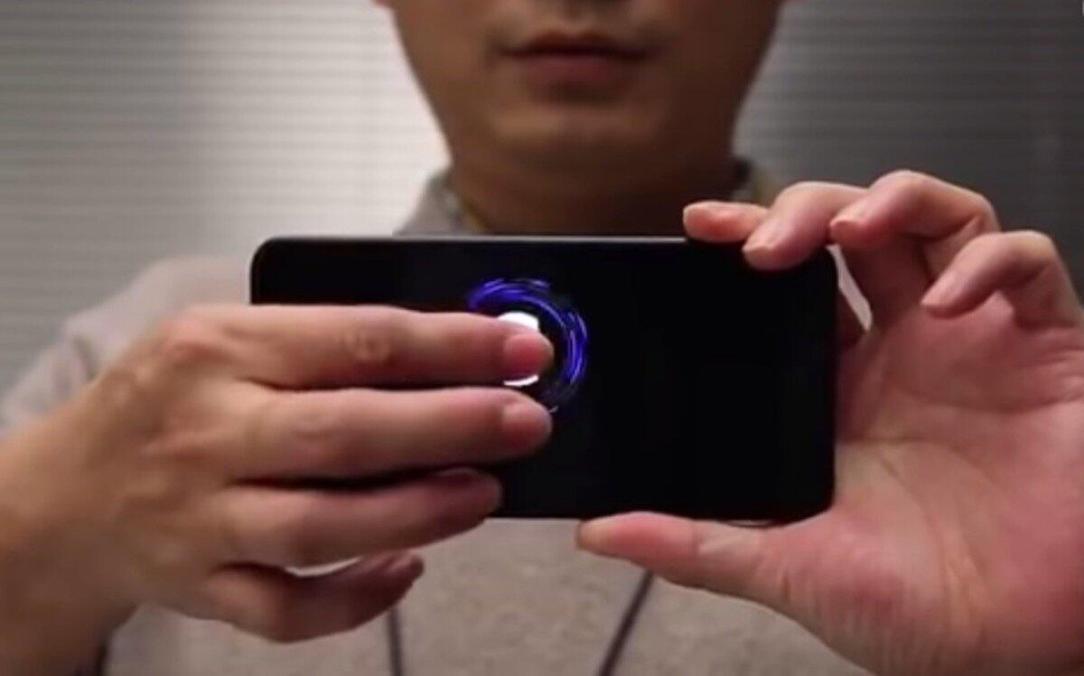 Xiaomi Prototyp Fingerabdruck Display
