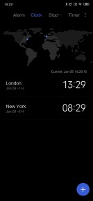 Xiaomi Mi Mix 3 Clock