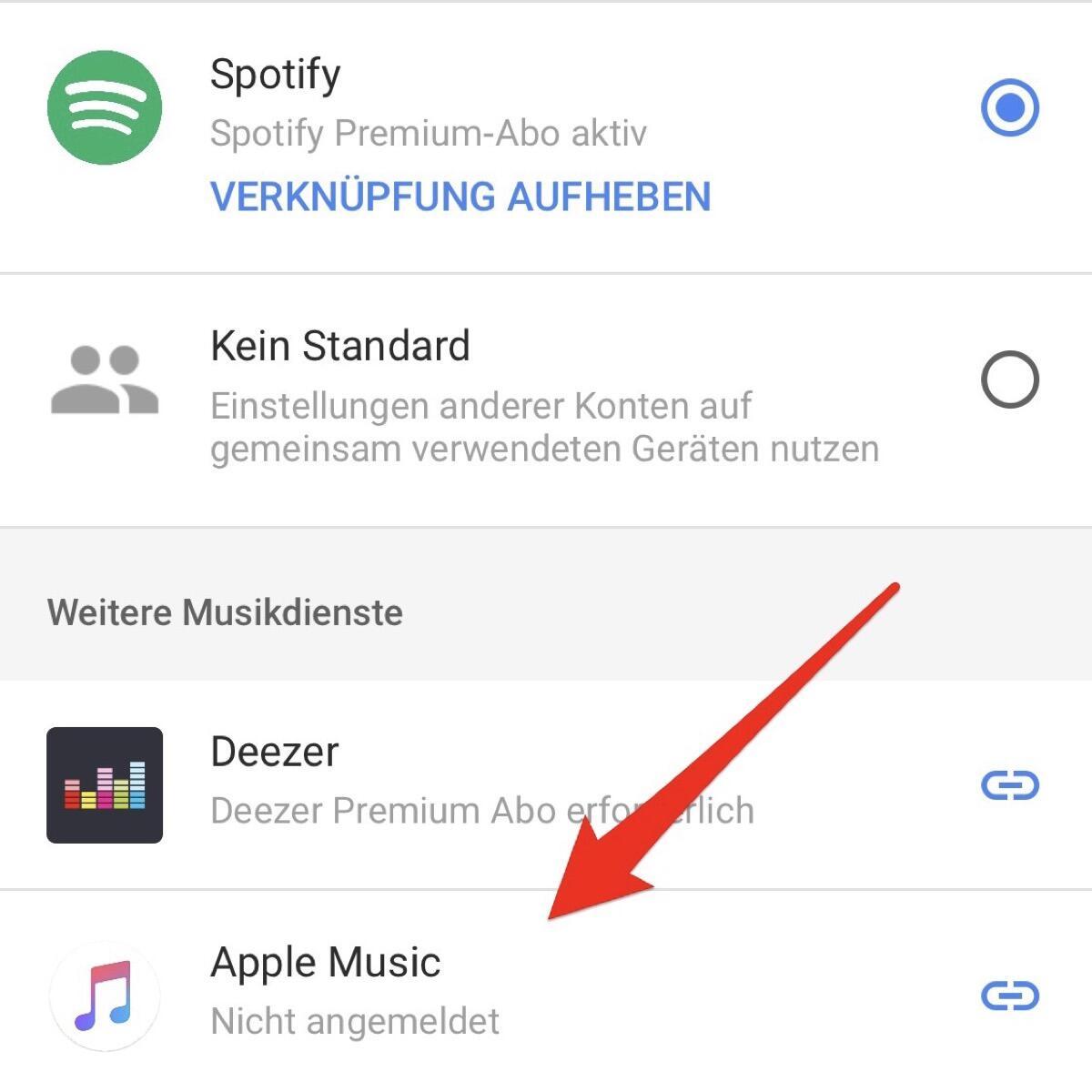 Apple Music Google Home