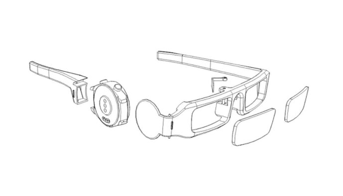 Huawei Ar Brille Patent