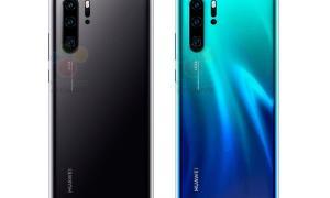 Huawei P20 Pro Schwarz Blau