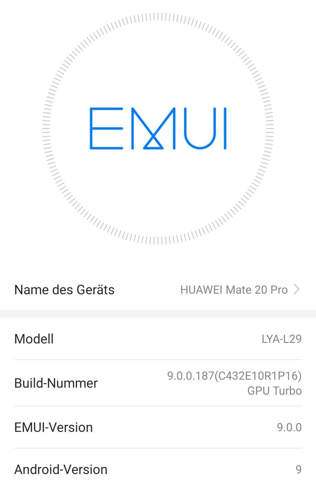 Lya L29 Huawei Mate 20 Pro