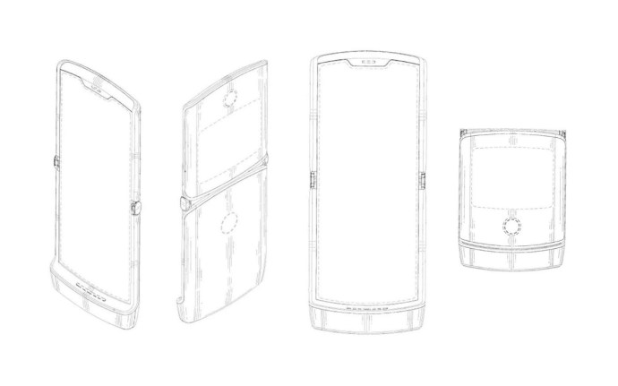 Motorola Razr 2019 Patent