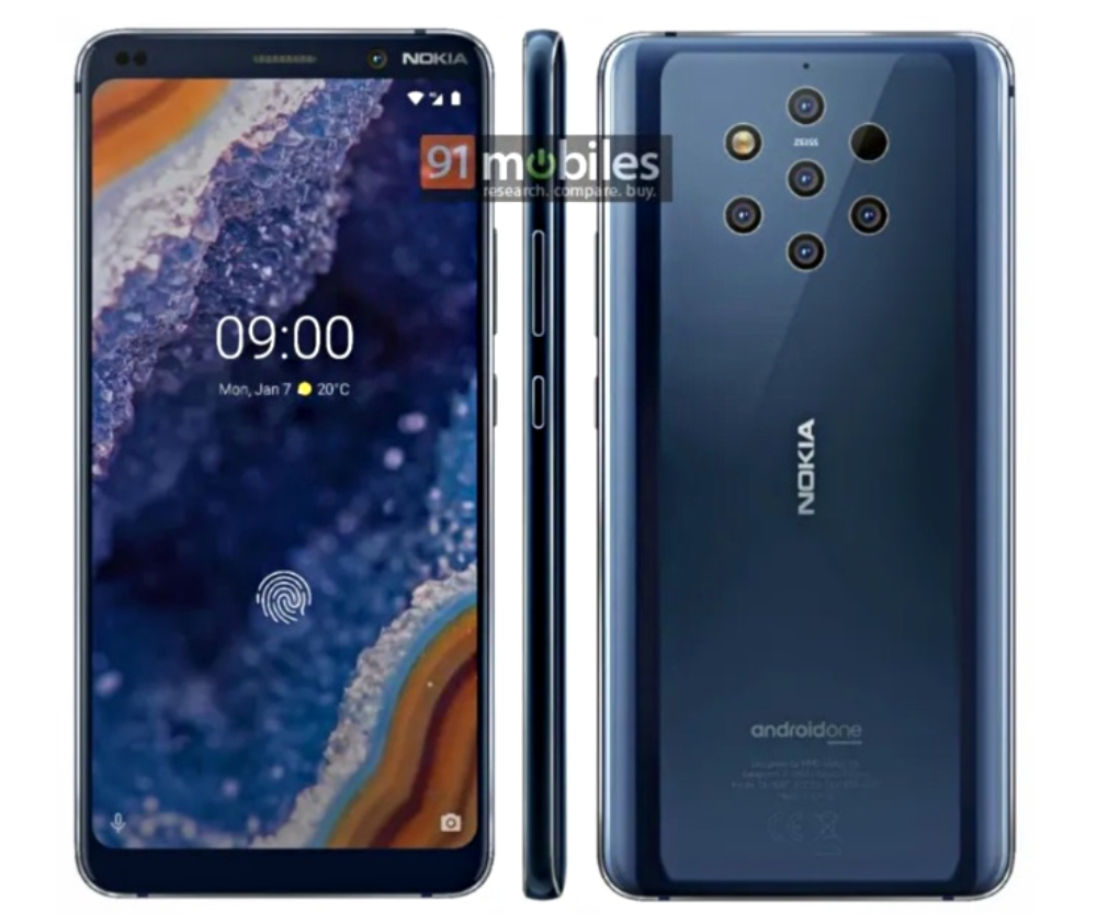 Nokia 9 Pureview Leak Press