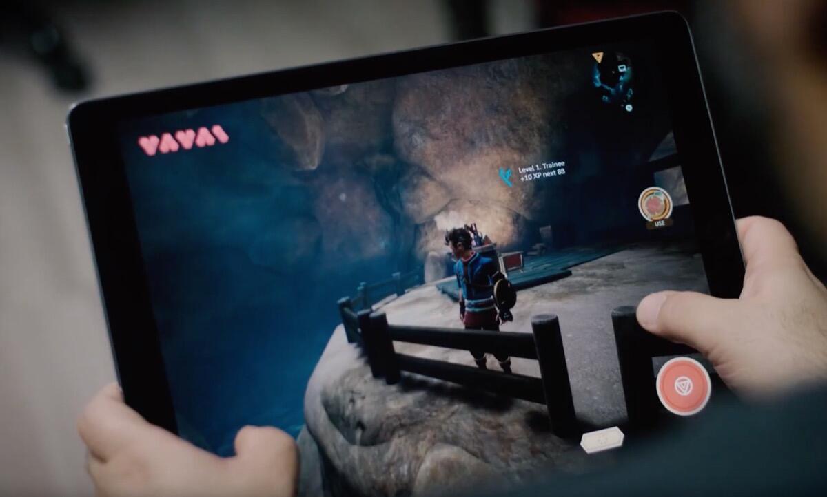 Oceanhorn 2 Ipad Screen