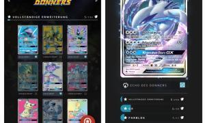 Pokemon Kartendex Screenshots