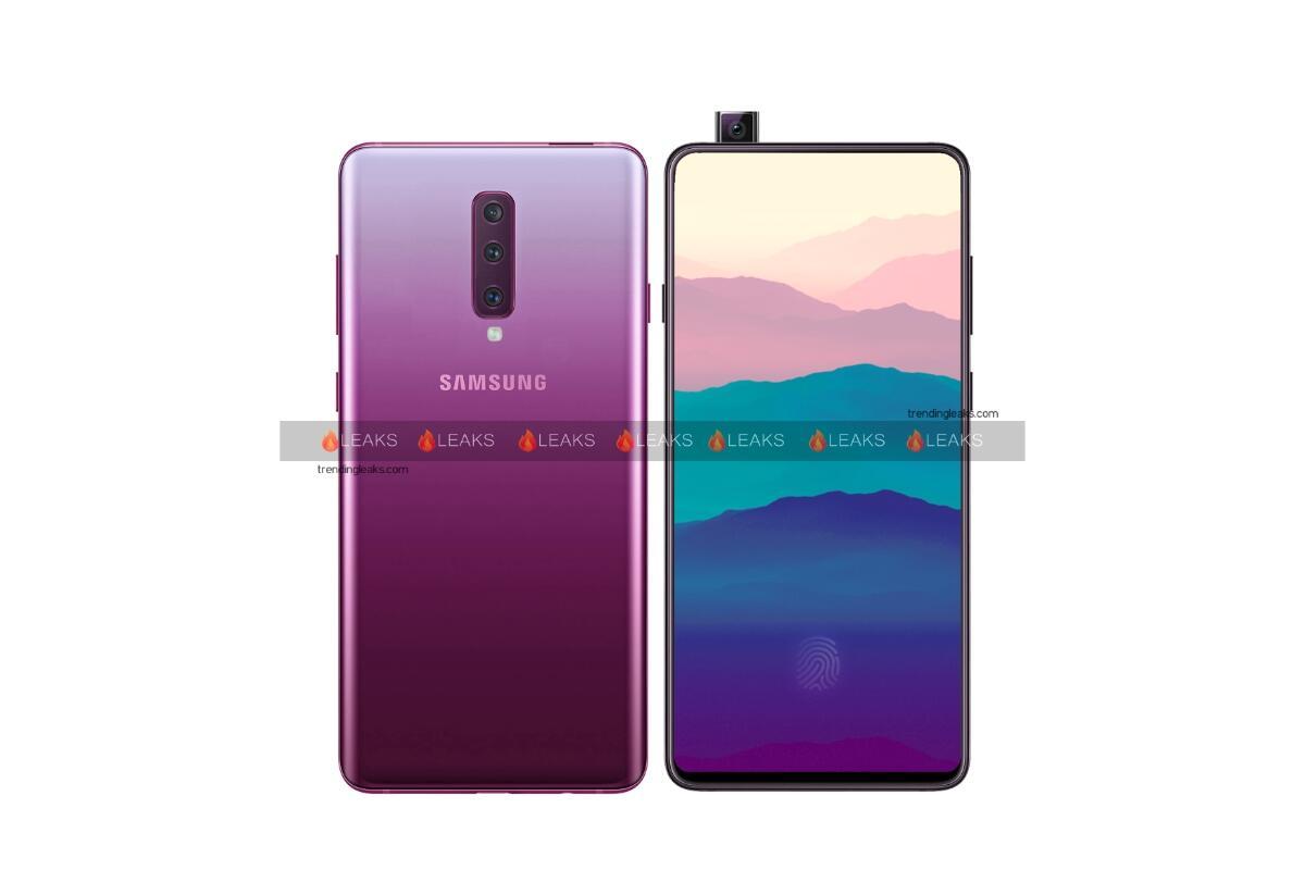 Samsung Galaxy A90 Konzept