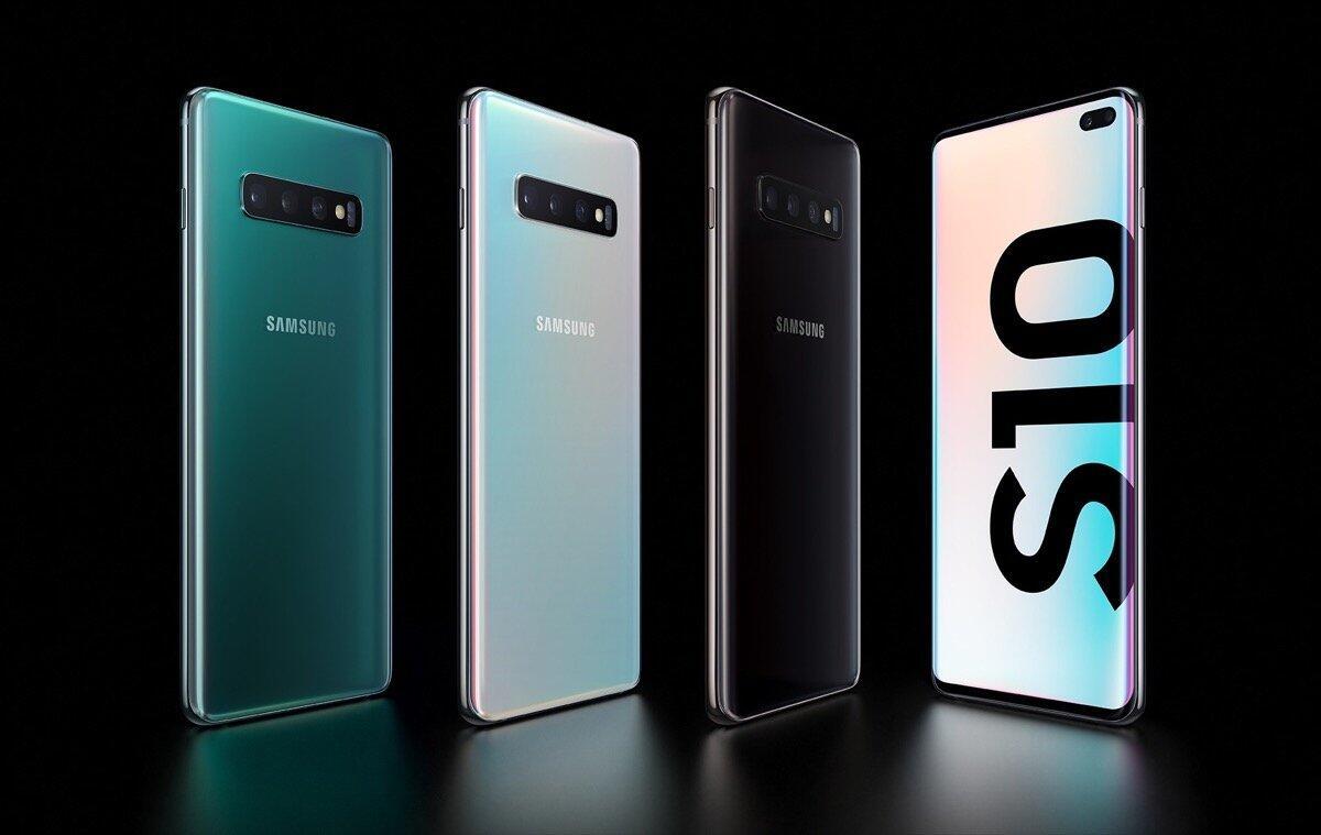Samsung Galaxy S10 Plus Header