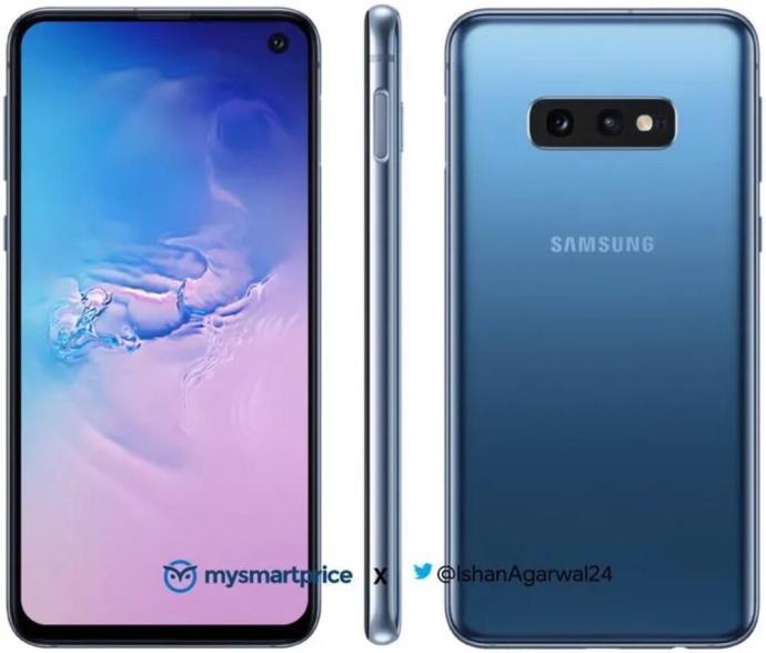 Samsung Galaxy S10e Blau