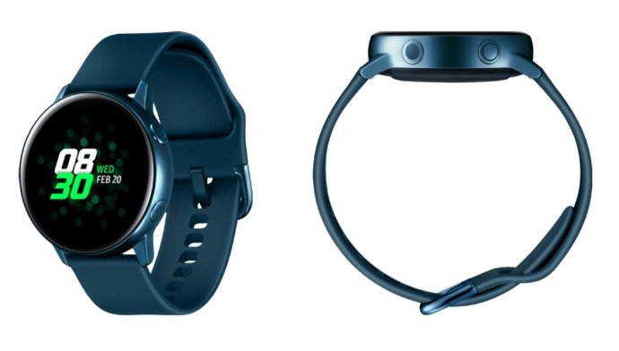 Samsung Galaxy Watch Active Blau