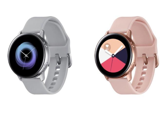 Samsung Galaxy Watch Active Header