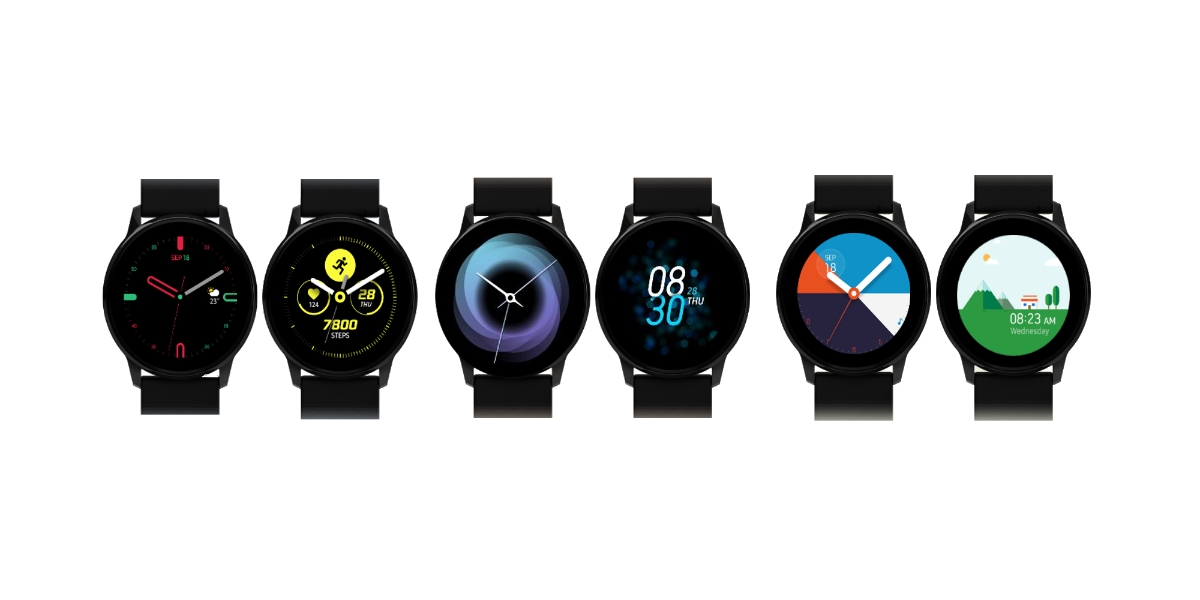 Samsung Galaxy Watch Active Watchfaces
