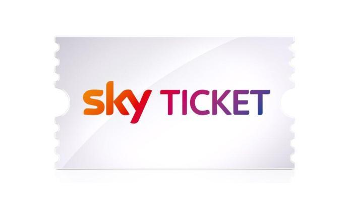 Sky Ticket Logo Header