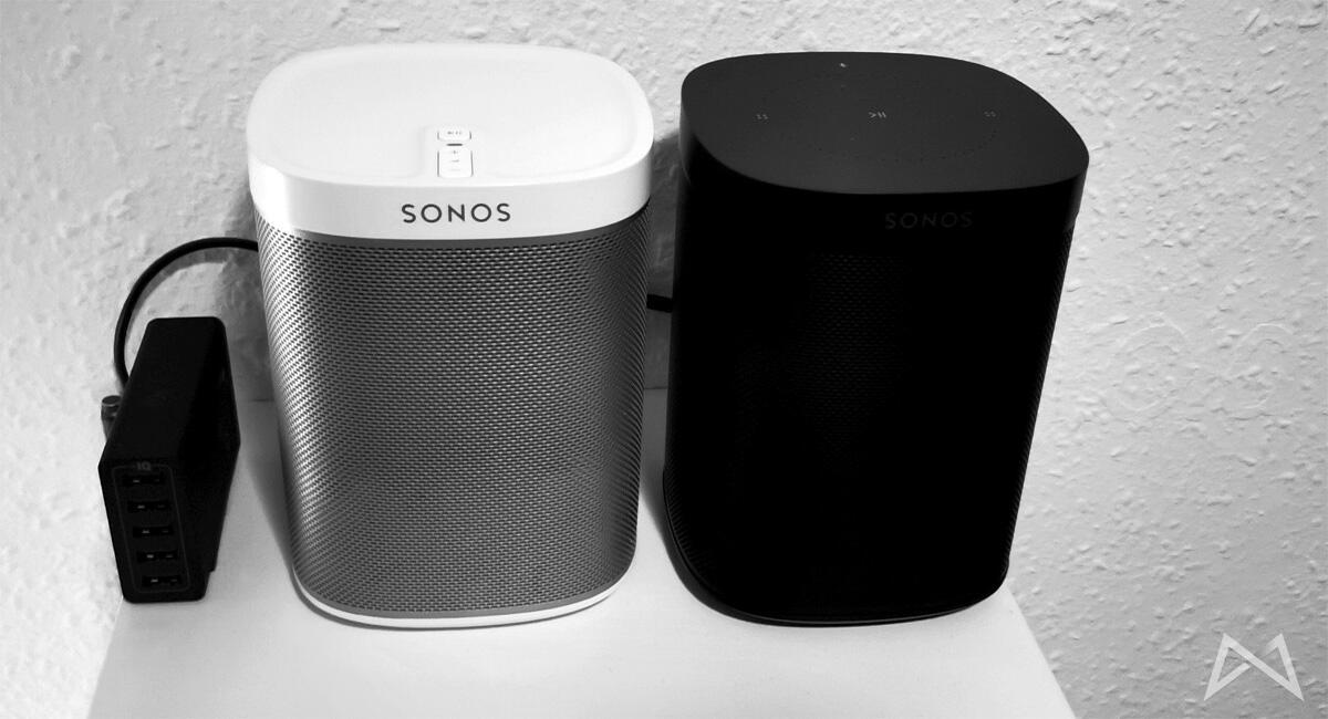 Sonos Play 1 Und Sonos Play One Mit Alexa