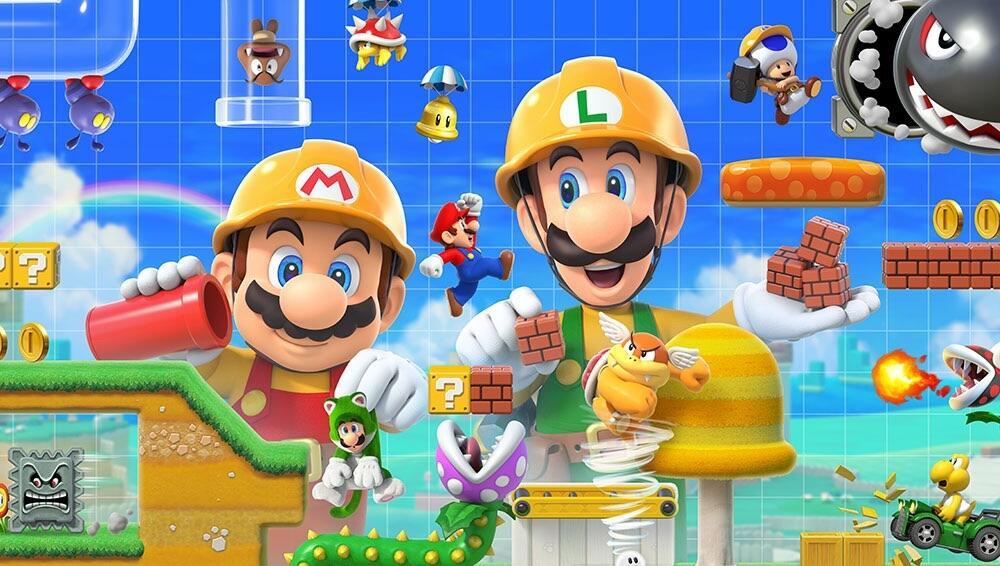 Super Mario Maker Nintendo Header