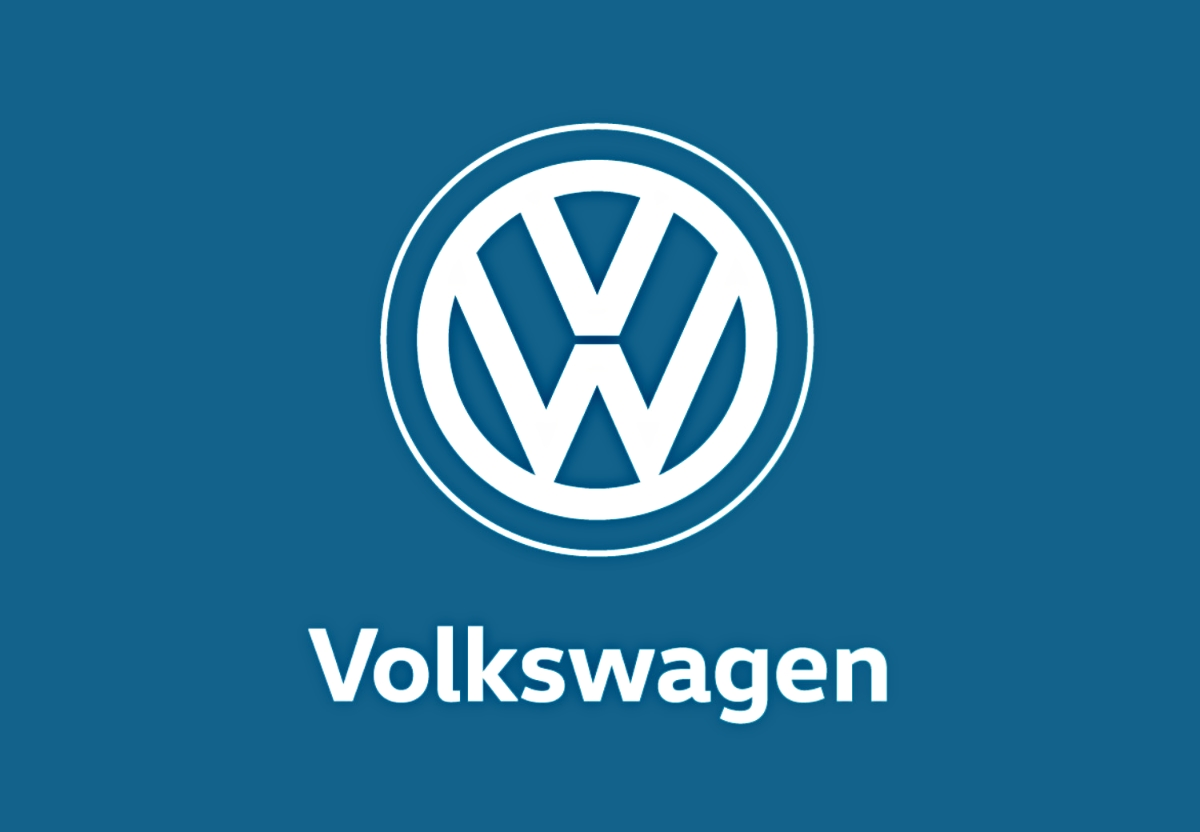 das neue volkswagen logo. Black Bedroom Furniture Sets. Home Design Ideas