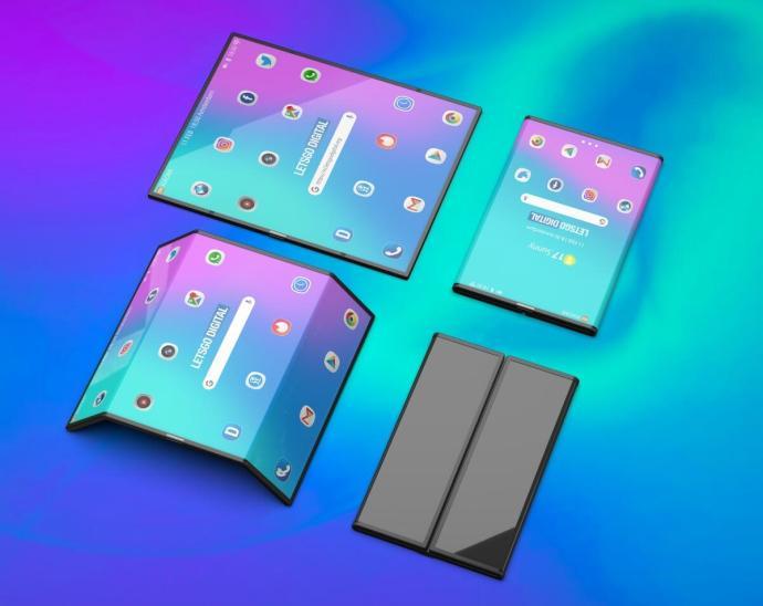 Xiaomi Faltbar Smartphone Konzept1