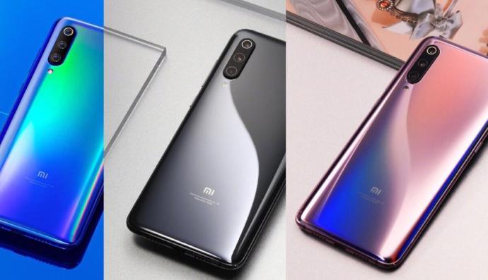 Xiaomi Mi 9 Farben