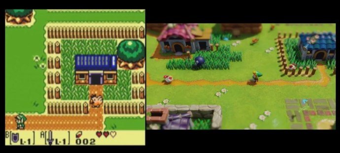 Zelda Link Awakening Vergleich