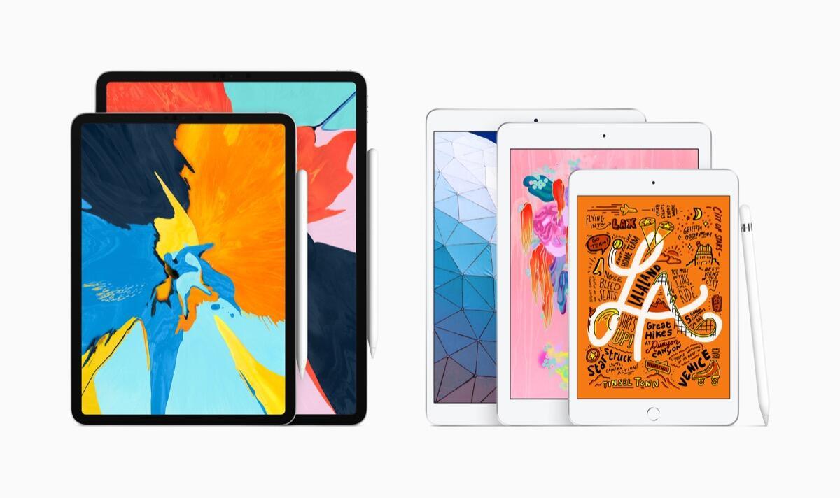 Apple Ipad Lineup 2019