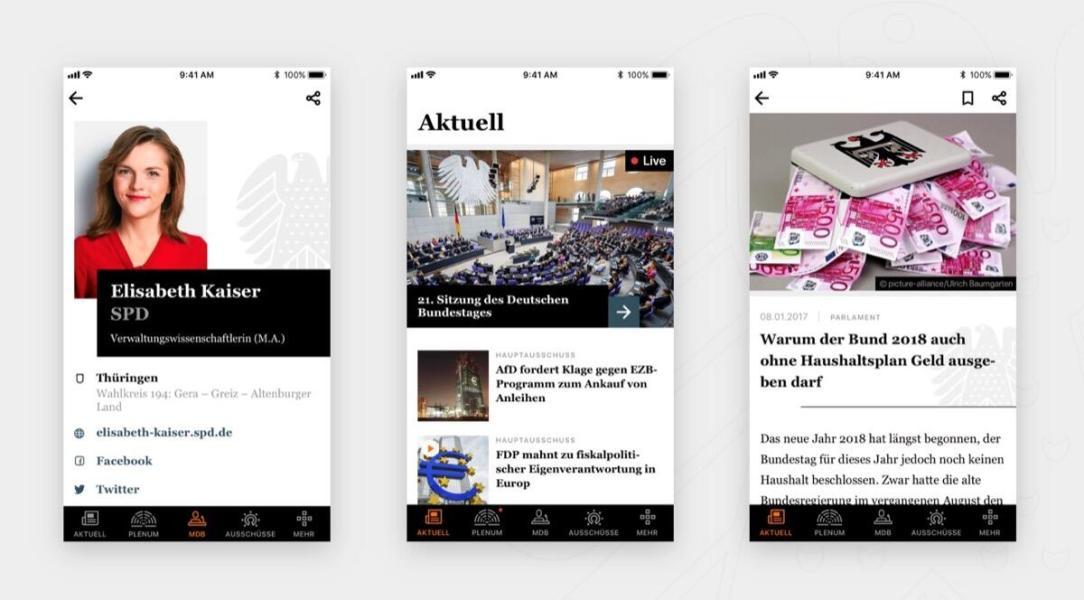 Bundestag App Android Ios Header