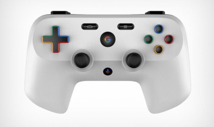 Google Gaming Controller Mockup