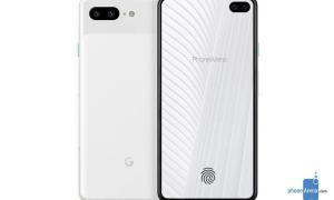 Google Pixel 4 Mockup1