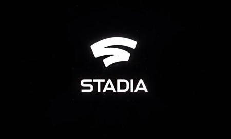 Google Stadia Logo Header