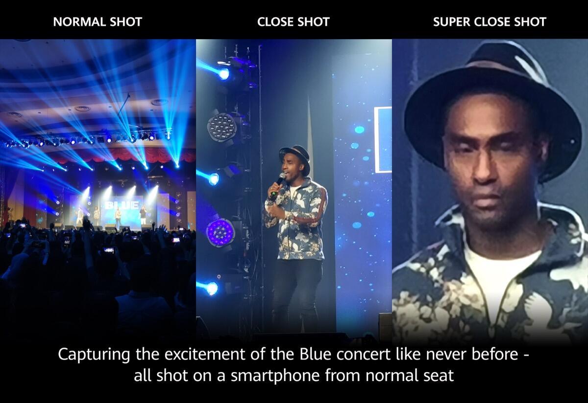 Huawei P30 Pro Konzert Zoom