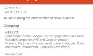 Nova Lauuncher 6 Beta