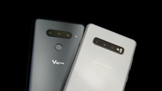 Samsung Galaxy S10 Lg V40 Header